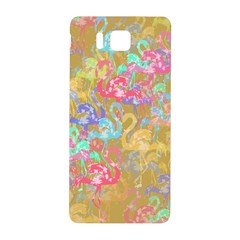 Flamingo pattern Samsung Galaxy Alpha Hardshell Back Case