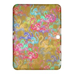 Flamingo pattern Samsung Galaxy Tab 4 (10.1 ) Hardshell Case