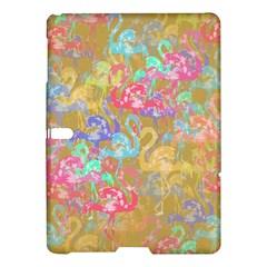 Flamingo pattern Samsung Galaxy Tab S (10.5 ) Hardshell Case