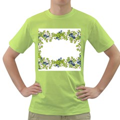 Birthday Card Flowers Daisies Ivy Green T Shirt