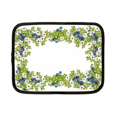 Birthday Card Flowers Daisies Ivy Netbook Case (small)