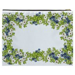 Birthday Card Flowers Daisies Ivy Cosmetic Bag (XXXL)  Back
