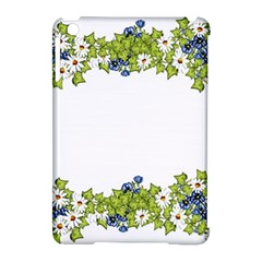 Birthday Card Flowers Daisies Ivy Apple iPad Mini Hardshell Case (Compatible with Smart Cover)