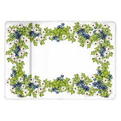 Birthday Card Flowers Daisies Ivy Samsung Galaxy Tab 10 1  P7500 Flip Case