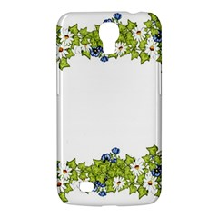 Birthday Card Flowers Daisies Ivy Samsung Galaxy Mega 6 3  I9200 Hardshell Case