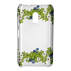 Birthday Card Flowers Daisies Ivy Nokia Lumia 620