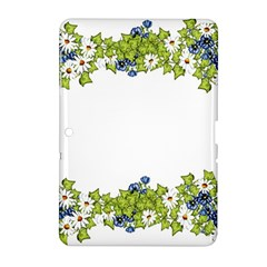 Birthday Card Flowers Daisies Ivy Samsung Galaxy Tab 2 (10 1 ) P5100 Hardshell Case
