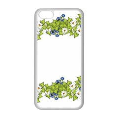 Birthday Card Flowers Daisies Ivy Apple Iphone 5c Seamless Case (white)