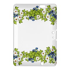 Birthday Card Flowers Daisies Ivy Kindle Fire Hdx 8 9  Hardshell Case