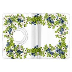 Birthday Card Flowers Daisies Ivy Kindle Fire Hdx Flip 360 Case