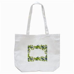 Birthday Card Flowers Daisies Ivy Tote Bag (white)