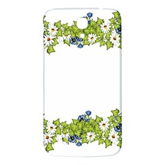 Birthday Card Flowers Daisies Ivy Samsung Galaxy Mega I9200 Hardshell Back Case