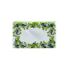 Birthday Card Flowers Daisies Ivy Cosmetic Bag (xs)