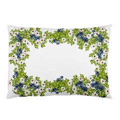 Birthday Card Flowers Daisies Ivy Pillow Case
