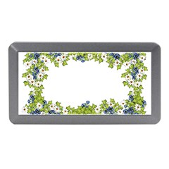 Birthday Card Flowers Daisies Ivy Memory Card Reader (Mini)
