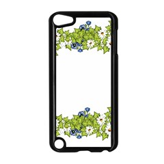 Birthday Card Flowers Daisies Ivy Apple iPod Touch 5 Case (Black)