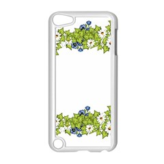 Birthday Card Flowers Daisies Ivy Apple Ipod Touch 5 Case (white)