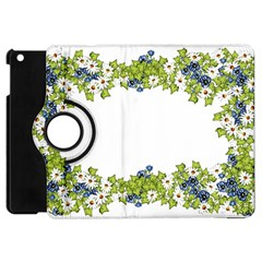Birthday Card Flowers Daisies Ivy Apple Ipad Mini Flip 360 Case
