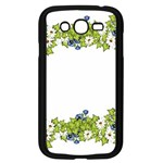 Birthday Card Flowers Daisies Ivy Samsung Galaxy Grand DUOS I9082 Case (Black) Front