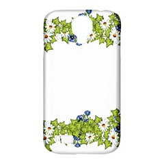 Birthday Card Flowers Daisies Ivy Samsung Galaxy S4 Classic Hardshell Case (pc+silicone)