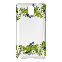 Birthday Card Flowers Daisies Ivy Samsung Galaxy Note 3 N9005 Hardshell Case