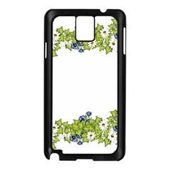 Birthday Card Flowers Daisies Ivy Samsung Galaxy Note 3 N9005 Case (black)