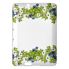 Birthday Card Flowers Daisies Ivy Kindle Fire Hdx Hardshell Case