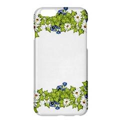 Birthday Card Flowers Daisies Ivy Apple Iphone 6 Plus/6s Plus Hardshell Case