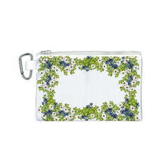 Birthday Card Flowers Daisies Ivy Canvas Cosmetic Bag (s)