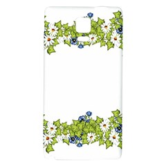 Birthday Card Flowers Daisies Ivy Galaxy Note 4 Back Case