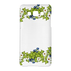 Birthday Card Flowers Daisies Ivy Samsung Galaxy A5 Hardshell Case