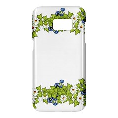 Birthday Card Flowers Daisies Ivy Samsung Galaxy S7 Hardshell Case
