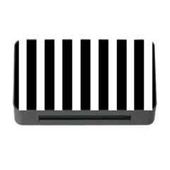 Black White Line Vertical Memory Card Reader with CF