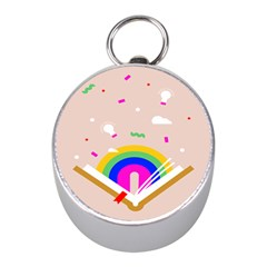 Books Rainboe Lamp Star Pink Mini Silver Compasses