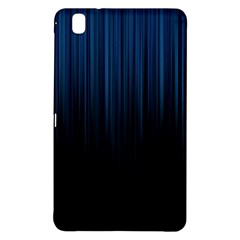 Black Blue Line Vertical Space Sky Samsung Galaxy Tab Pro 8.4 Hardshell Case