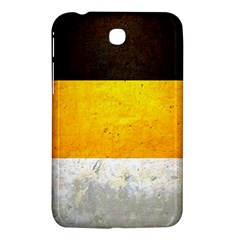 Wooden Board Yellow White Black Samsung Galaxy Tab 3 (7 ) P3200 Hardshell Case