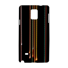 Fallen Christmas Lights And Light Trails Samsung Galaxy Note 4 Hardshell Case