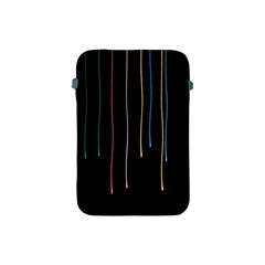 Falling Light Lines Perfection Graphic Colorful Apple iPad Mini Protective Soft Cases