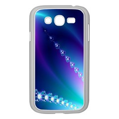 Flow Blue Pink High Definition Samsung Galaxy Grand DUOS I9082 Case (White)