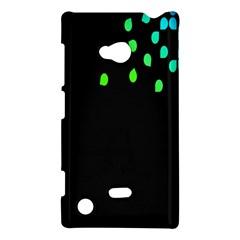 Green Black Widescreen Nokia Lumia 720