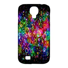 Colorful Bubble Shining Soap Rainbow Samsung Galaxy S4 Classic Hardshell Case (PC+Silicone)
