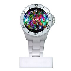 Colorful Bubble Shining Soap Rainbow Plastic Nurses Watch