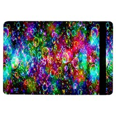 Colorful Bubble Shining Soap Rainbow Ipad Air Flip