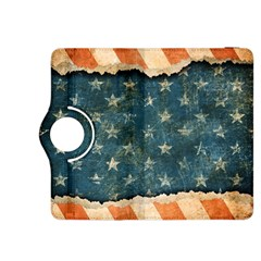 Grunge Ripped Paper Usa Flag Kindle Fire HDX 8.9  Flip 360 Case