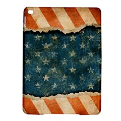 Grunge Ripped Paper Usa Flag iPad Air 2 Hardshell Cases