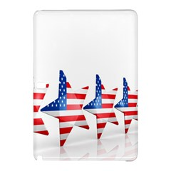 Multiple Us Flag Stars Line Slide Samsung Galaxy Tab Pro 10.1 Hardshell Case
