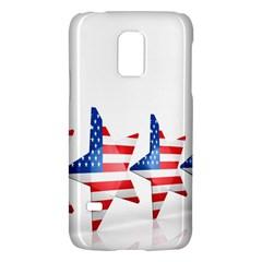 Multiple Us Flag Stars Line Slide Galaxy S5 Mini