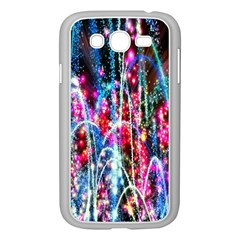 Fireworks Rainbow Samsung Galaxy Grand DUOS I9082 Case (White)