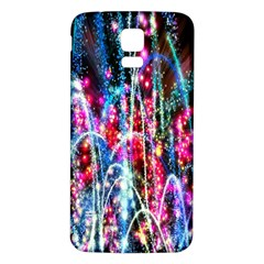 Fireworks Rainbow Samsung Galaxy S5 Back Case (white)