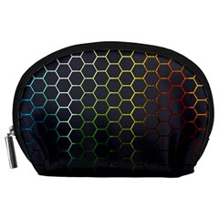 Hexagons Honeycomb Accessory Pouches (Large)